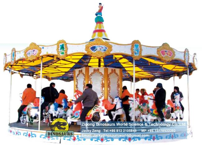 Merry go round, amusement rides, carousels DWP176A