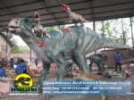Amusement park equipments Artificial Dinosaur Iguanodon DWD056-1