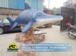 Animatronic animals Marine animal model sea fish in zoo DWA017-1